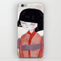 sakura iPhone & iPod Skins featuring Sakura by munieca