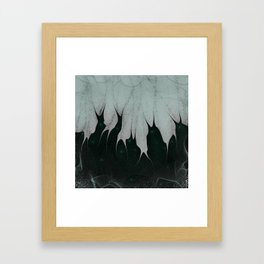 Unfolding Despair Framed Art Print