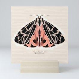 Virgin Tiger Moth Mini Art Print