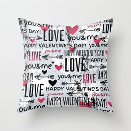 Love Pillows Throw Pillow
