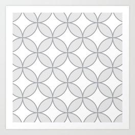Circles Circles Art Print