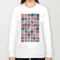 sailormoon Long Sleeve T-shirts featuring Noodle  by Verismaya