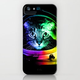 Astronaut Cat iPhone Case