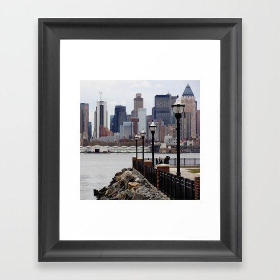 Weehawken Framed Art Print