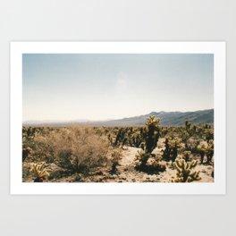 Desert Dreams 1 Art Print