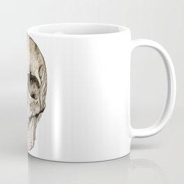 Human Skull En Face Coffee Mug