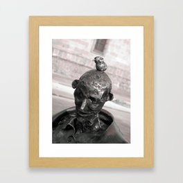 Birdie/Pajaro Framed Art Print