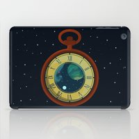 pocket iPad Cases featuring Cosmic Pocket Watch by badOdds