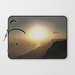 Paragliders Flying Without Wings Laptop Sleeve