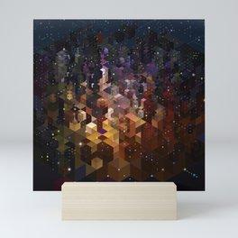 City of Lights Mini Art Print