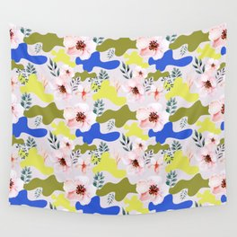 Floral Cameo Wall Tapestry