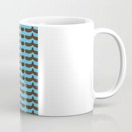moustache handshake  Coffee Mug