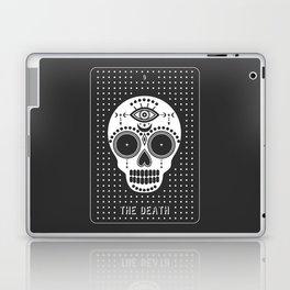 Minimal Tarot Deck The Death Laptop & iPad Skin