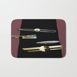 Black Tie Bath Mat