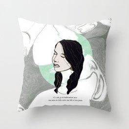 Ce soir Throw Pillow