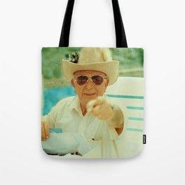 Cowboy Grandad Tote Bag