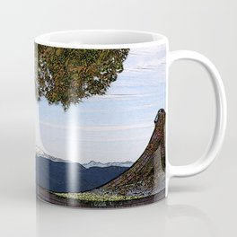 Rainer Woodblock Coffee Mug
