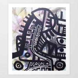 CAMINOS Art Print