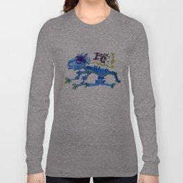 The Blue Cat Long Sleeve T-shirt