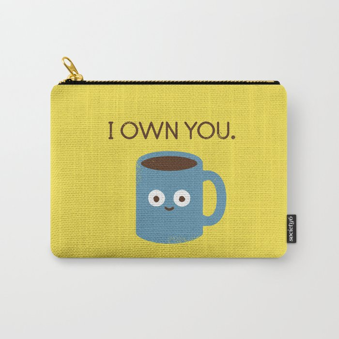 Coffee Talk Carry-All Pouch