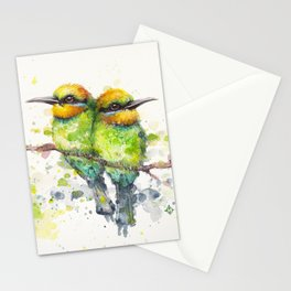 Family (Rainbow Bee Eaters) Stationery Cards