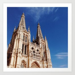 Burgos Cathedral Art Print