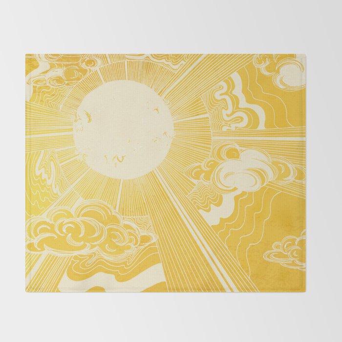 Solar Flare Throw Blanket