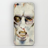 zombie iPhone & iPod Skins featuring Zombie by Michael Scott Murphy