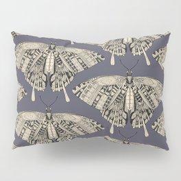 swallowtail butterfly dusk black Pillow Sham