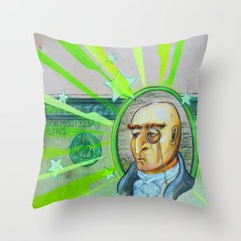 Austere Cavalier Complete Throw Pillow