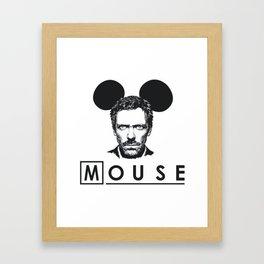 Gregory Mouse Framed Art Print