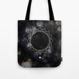 Sun Delay Geometry Tote Bag
