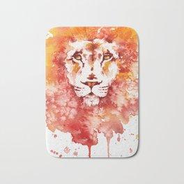 PRIDE (Water colour Lion) Bath Mat