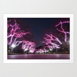 Ueno Park - Tokyo Art Print