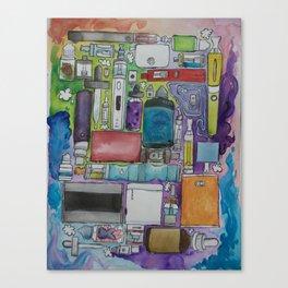 Ecig Tetris Canvas Print