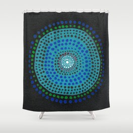 Dotto 9 Shower Curtain