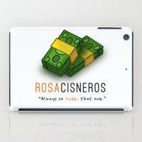 oitnb iPad Cases featuring Miss Rosa Cisneros | OITNB by Sandi Panda