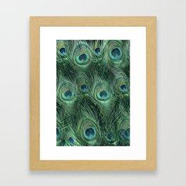 Blanket Of Eyes Framed Art Print