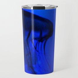 Jellyfish in the Deep Blue Travel Mug