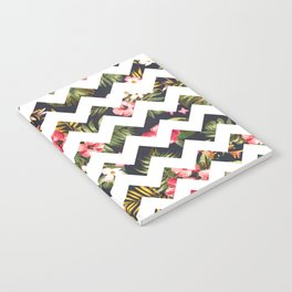 Floral Chevron Notebook