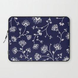 Indigo Floral Trail Laptop Sleeve