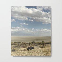The Buffalo Bison Metal Print