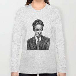 Jon Stewart Long Sleeve T-shirt
