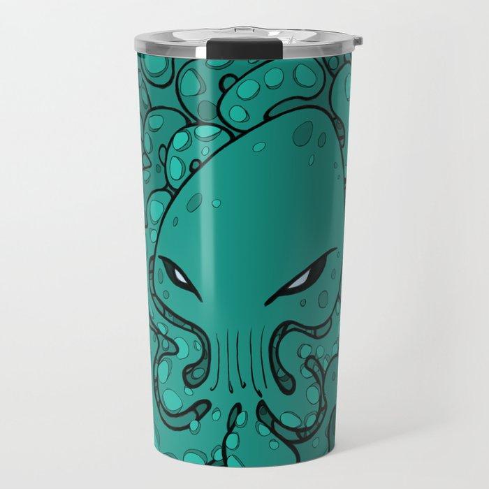 Octopus Squid Kraken Cthulhu Sea Creature - Arcadia Travel Mug