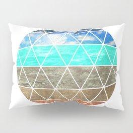 Elemental Geodesic  Pillow Sham
