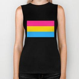 Pansexuality Pride Flag Biker Tank