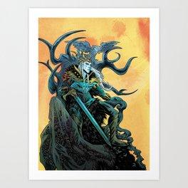 Elf King - Fire Art Print