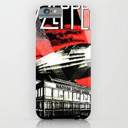 Red Zeppelin iPhone Case