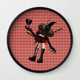 Lip Witch III Wall Clock