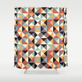 Triangles 006 Shower Curtain